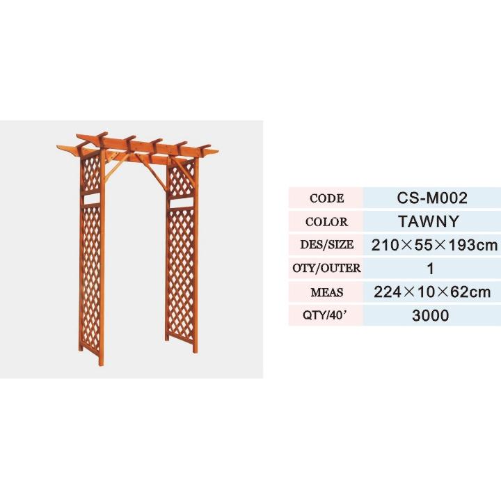 木制花园门/木制桌椅